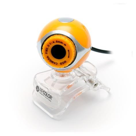 Cámara-Web-VGA-Naranja